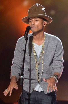 100 homens mais bonitos do mundo em 2014 - Pharrell Williams