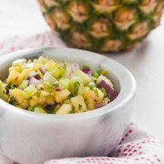 Cucumber-Pineapple Salsa HealthyAperture.com