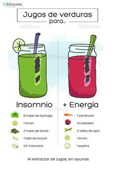 Insomnio y energía