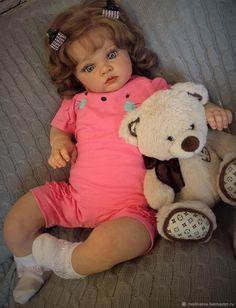 Кукла реборн Тиффани – купить на Ярмарке Мастеров – JYO86RU | Куклы Reborn, Краснодар Reborn Toddler Dolls, Reborn Babies, Realistic Baby Dolls, Plushies, Bjd, Chihuahua, Teddy Bear, Cute, Handmade Dolls