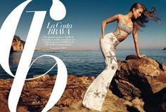 Eniko Mihalik | Photog: Nico | Harper's Bazaar (Spain) | June 2012