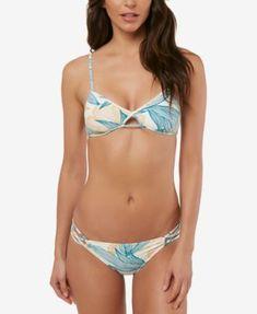 72a7b8bd2eb8d Private Arts Strappy Bikini Top in Sound Garden | Pinterest | Strappy  bikini top, Bikini top and Swimwear