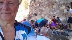 Jeg har vært så heldig å bli invitert med inn i en sykkelgruppe i Alanya, med hovedsak tyrkere. Hver søndag er det sykkelturer til forskjellige steder