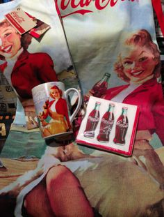 One of our lucky fans will get the chance to win this cool Coca-Cola package! It includes a Mug, Apron, Dish Towel and Napkins. See how to enter here -> http://littlepartyshoppe.ca/coca-cola-contest-giveaway/