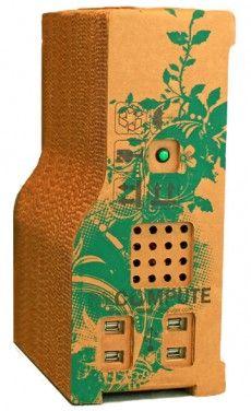 cardboard PC, pretty eco-friendy cool idea