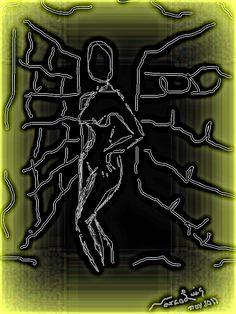 """Esbozo"". Digital Drawing. MLPatiño/Noviembre 2011"