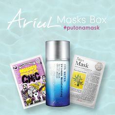 Ariul Masks Box #putonamask