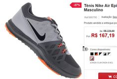 Tênis Nike Air Epic Speed TR II - Masculino << R$ 16719 em 5 vezes >>