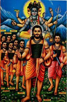 There are four main sects within Hinduism: Shaivism, Vaishnavism, Shaktism, Smartism, in which six main gods are worshiped Shiva Hindu, Hindu Deities, Hindu Art, Hinduism, Indian Saints, Saints Of India, Jalaram Bapa, Shiva Yoga, Kundalini Yoga