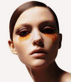 could do for #halloweenmakeup {Shu Uemura Kakuyasu Uchiide False Eyelashes Collection}