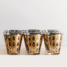 Round Glasses Set Of 8 by Vintage Junkys.  Perfect for drinks with the ladies!