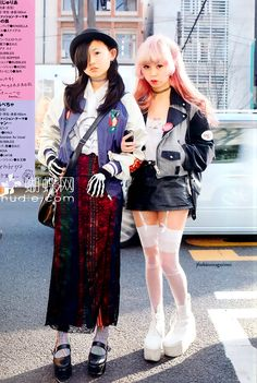 japanese street fashion cr: google