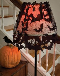 #halloween #bats #gothic #lace