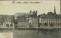 Aust-Agder fylke Arendal  med dikt av A.Munch Ferge. Utg Schønberg. Stemplet 1906