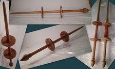 Baatara 2-whorled support spindle by spinnnr, via Flickr