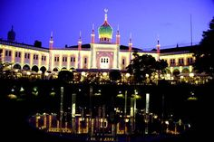 Tivoli Gardens - I have never missed when home in CPH unless it was closed for the season - a wonderous joy