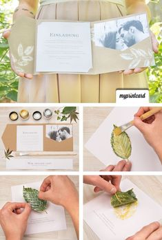 Some awesome DIY Wedding Invitation Cards. Easy and affordable, these handmade wedding invitations will make your guests excited for the ceremony. Diy Wedding Programs, Cheap Wedding Venues, Country Wedding Invitations, Handmade Wedding Invitations, Diy Invitations, Wedding Invitation Wording, Wedding Stationery, Wedding Cards, Invitation Ideas
