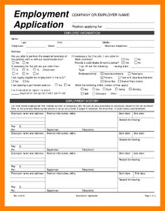 printable job application templates free printable employment