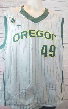 Oregon Ducks Nike Pac 12  49 Baseball Jersey NCAA Men s Size 46 Sleeveless   Nike cc7231822