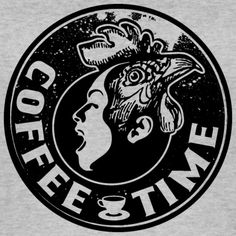 Tonony.com | LATTE KAFFEE PAUSE GESCHENKIDEE T-SHIRT   - Frauen Bio Tank Top von Stanley & Stella  - Aber auch andere coole Prints für Damen, Herren, Kinder und Babys auf zahlreichen verschiedenen Produkten.   T-SHIRT > SCHREIENDER MENSCHEN MIT EINEM HAHNENKOPF, MIT DEM TEXT COFFEE TIME. ES GIBT KAFFEE UND KUCHEN, DANN KANN DER KAFFEEKLATSCH MIT DEM PERFEKTEN T-SHIRT BEGINNEN. SCHWARZ T-SHIRT