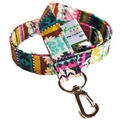 """Handmade Fabric Lanyard ID Badge Holder 