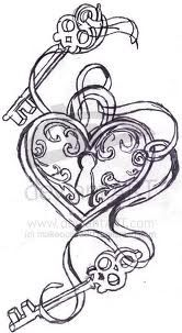 Really want this tattooed on me! One key having norahs name on it and save the other key for my future son/daughters name!