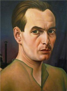 Christian Schad - Self-Portrait (1927)     Christian Schad (August 21, 1894 – February 25, 1982) was a German painter associated with Dada and the New Objectivity movement.