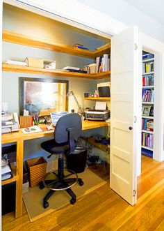 Home Office Design for Small Area