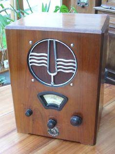 TSF Radio Ducretet C50 antique