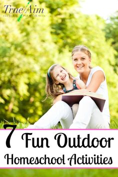 7 fun outdoor homeschool activities - Definitely doing some of these! Outdoor Activities For Kids, Outdoor Learning, Kids Learning Activities, Teaching Kids, Games To Play With Kids, Free Homeschool Curriculum, Kids Education, Science Education, Outdoor Fun