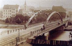 Die alte Keplerbrücke (1882-1961) war durch die Art ihrer Konstruktion ein technisches Pionierwerk. aus: Historisches aus Graz Sydney Harbour Bridge, Alter, Austria, Travel, Image, Pictures, Graz, Old Pictures, Viajes