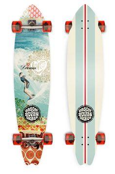 pinterest.com/fra411 #graphic #Skateboard