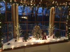 christmas bay window christmas window decorations winter decorations seasonal decor bay window decor - Bay Window Decorations For Christmas