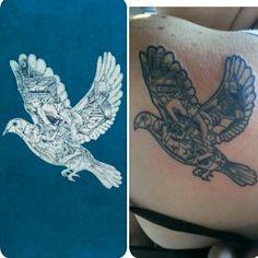 Coldplay dove magic tattoo