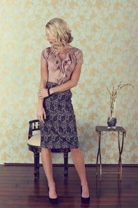 love this classy vintage style!!