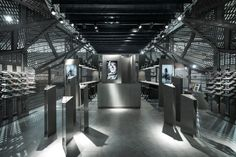 BLACKFIN stand – The Black Shard by anidridedesign at MIDO 2015, Milano – Italy » Retail Design Blog