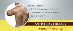 Are you Facing stress? Not getting sound sleep? Suffering from back pain? Low energy, Then try out our Anti-stress Therapy for relaxation and rejuvenation the body. @ 999/- + GST Only Book Now: http://www.oraspa.in/  #AntistressTherapy #BodySpa #massagetherapy