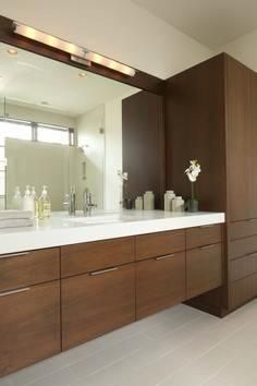 Fascinating Tips: Contemporary Bathroom Decorations tiny contemporary house.Contemporary Home Bathroom. Floating Cabinets, Floating Vanity, Mirror Cabinets, Tall Cabinets, Modern Bathroom Cabinets, Large Bathrooms, Amazing Bathrooms, Small Bathroom, Master Bathroom