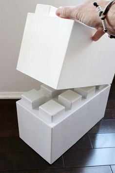 Build the Life-Sized Object of Your Dreams with Giant LEGO Bricks for Adults #lego