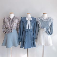 没有照片描述。 Korea Fashion, Fashion Line, Kpop Fashion, Cute Fashion, Asian Fashion, Girl Fashion, Fashion Dresses, Vintage Fashion, Fashion Design