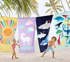 Add a splash of vibrant design to summertime. Our pure cotton towels boast fade-resistant, eco-friendly dyes and a UPF rating for comfort and peace of mind during fun in the sun. Unicorn Kids, Cute Unicorn, Circle Beach Towel, Beach Activities, Towel Wrap, Beach Toys, Kids Beach Towels, Beach Accessories, Cotton Towels
