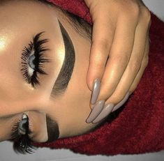 Eyemakeupart provides new eye makeup tutorial. How to make up your eye and how to do special design your eye. Cute Makeup, Glam Makeup, Gorgeous Makeup, Pretty Makeup, Skin Makeup, Makeup Inspo, Eyeshadow Makeup, Makeup Inspiration, Beauty Makeup