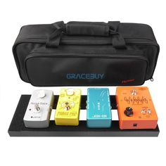 Guitar Effect Pedal Board Setup 40X13 CM DIY Guitar Pedalboard With Magic Tape Musical Instrument Accessory For Sale $59.99   #cool #fashion #styles #glam #instastyle #iwant #cute #style #streetstyle #dress #swag #instafashion #ootd #stylish #sweet