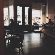 Hungry Ghost - Park Slope/Prospect Heights. Cafe and Coffee shop with free wifi. Photo by Ilenia Martini.