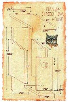 How to build a house for an owl. Maybe I can have a pet owl like Harry Potter! haha