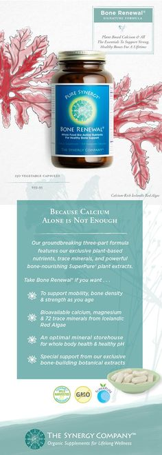 Bone Renewal is an unsurpassed, comprehensive solution for optimal bone health with plant-based bioavailable calcium, magnesium, vitamins and much more. Shop now. Hiit, Pilates, Autogenic Training, Health And Wellness, Health Tips, Women's Health, Health Foods, Speed Up Metabolism, Probiotic Foods
