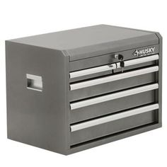 Husky 27 in. 8-Drawer Tool Chest and Cabinet Set, Rust-Resistant ...