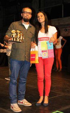 Categoria Novo Talento - Desenhista. Vencedor Pedro Franz. Pedro ganhou prêmio de R$500,00 em produtos na Livraria HQMix, patrocinado pela Sertic.