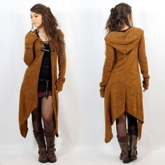 """Gilet witch \""""Makshi\"""", Rouille"""