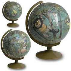 Where the Wild Things Are globe -- so cool!